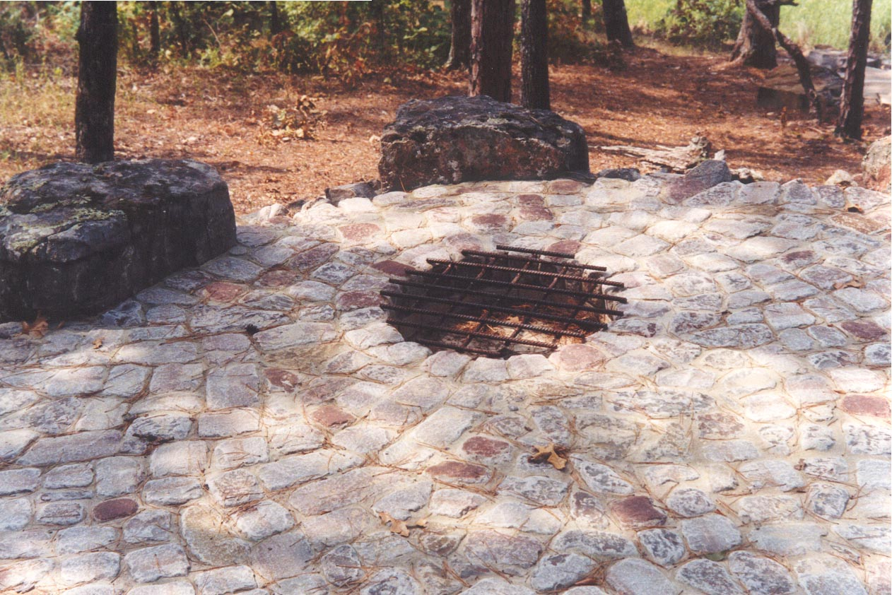How To Build A Outdoor Fire Pit With Stone Home Improvement