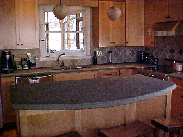 Stone Countertop Delectable With Stone Kitchen Countertops Picture
